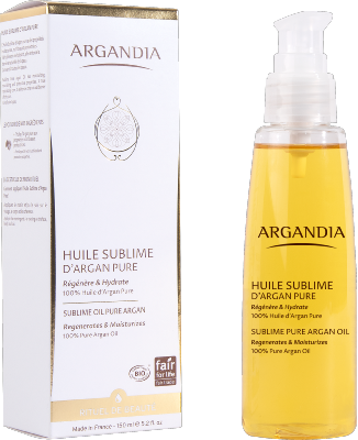 Huile sublime d'Argan Pure - 150 ml - ARGANDIA
