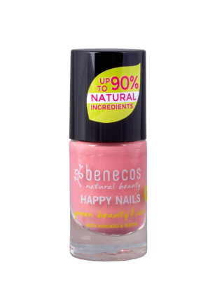 Vernis à Ongles Naturel Bubble Gum - VEGAN - 5 ml - BENECOS