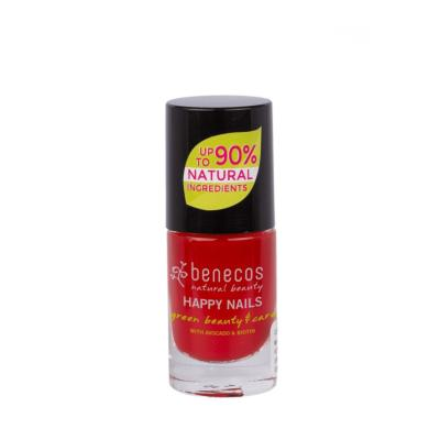 Vernis à Ongles Naturel Vintage Red - VEGAN - 5 ml - BENECOS