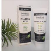 DENTIFRICE CHARBON BIO - 50 ml - AQUASILICE