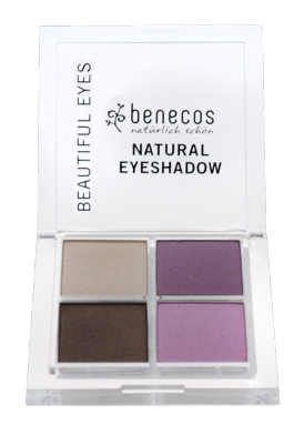 Fard à paupières Vegan 4 couleurs BEAUTIFUL EYES - 8 g - BENECOS