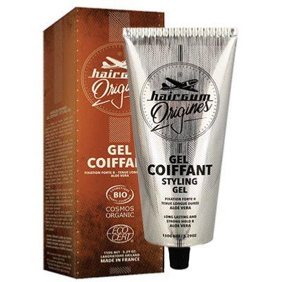 Gel coiffant bio homme - 150 grs - HAIRGUM ORIGINES