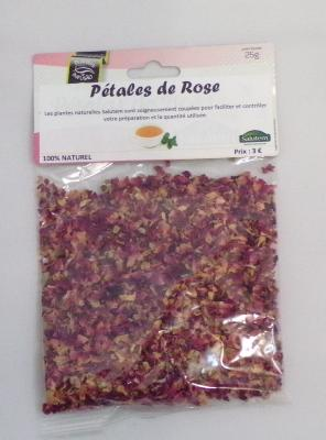 Infusion Pétales de Rose - 100 % Naturel - 25 g - SALUTEM PORTUGAL
